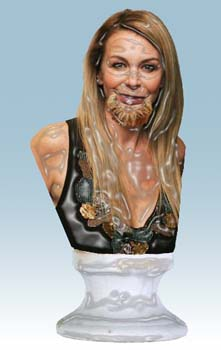 Lesley Ash bearded figurine